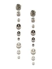 Accessorize Set of 9 Stud Earrings