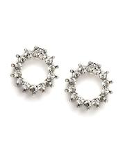 Accessorize Silver-Toned Stud Earrings