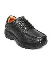 Dot Com Men Black Casual Shoes