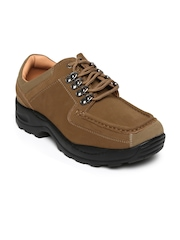 Dot Com Men Brown Casual Shoes