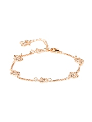 Addons Rose Gold-Toned Bracelet
