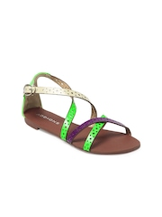 Addons Women Multi-Coloured Sandals