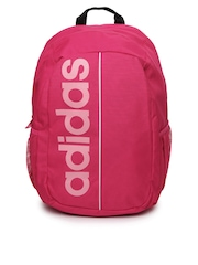 Adidas Girls Pink Backpack