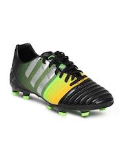 Adidas Men Black & Orange Nitrocharge 3.0 FG Football Shoes