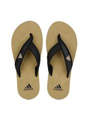 Adidas Men Black Adi Rio Flip Flops