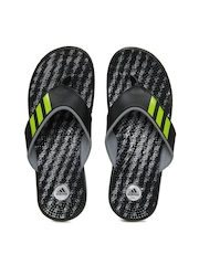 Adidas Men Black Adissage Thong Gr M Flip Flops