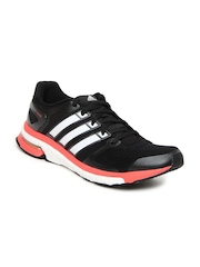 Adidas Men Black Adistar Boost ESM Sports Shoes