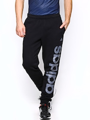 Adidas Men Black ESS LIN CH Track Pants