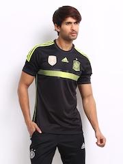 Adidas Men Black FIFA Jersey
