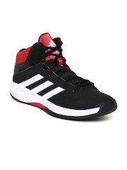 Adidas Men Black Isolation 2 Basketball Shoes