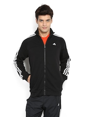 Adidas Men Black Track Suit