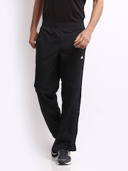 Adidas Men Black Trackpants