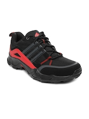 Adidas Men Black Woran Sports Shoes