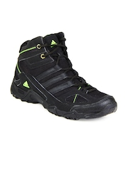 Adidas Men Black Xaphan Mid Sports Shoes