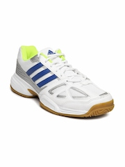 Adidas Men White Cross Court Sports Shoes