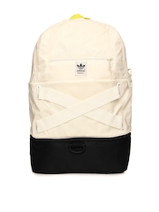 Men Cream Coloured Backpack Adidas Originals