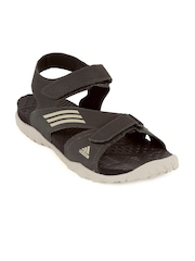 Adidas Men Brown Echo Sports Sandals