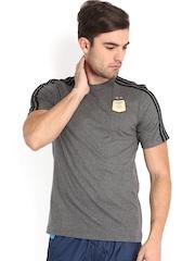 Adidas Men Grey AFA Messi T-shirt