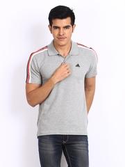 Adidas Men Grey Polo T-shirt