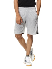 Adidas Men Grey Shorts