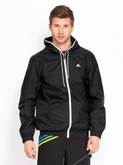 Adidas Men Black Rain Jacket