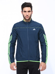 Adidas Men Navy Blue RSP W JKT M Running Jacket