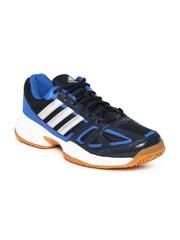 Adidas Men Navy Cross Court Tennis Shoes