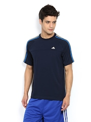 Adidas Men Navy T-shirt
