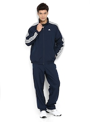 Adidas Men Navy Track Suit