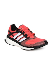 Adidas Men Neon Orange Energy Boost 2 ESM Running Shoes