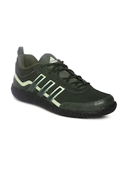 Adidas Men Olive Green Voltron Sports Shoes
