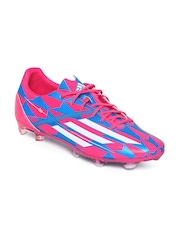 Adidas Men Pink & Blue F30 FG Football Shoes