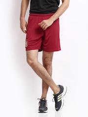 Adidas Men Red Shorts