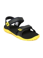 Adidas Men Navy & Black Adwen Sports Sandals