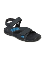 Adidas Men Charcoal Grey Echo Sports Sandals