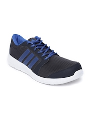 Adidas Men Charcoal Grey Hellion Running Shoes