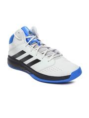 Adidas Men Grey Isolation 2 Basketball Shoes