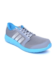 Adidas Men Grey Hellion Running Shoes
