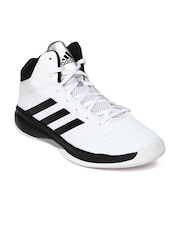 Adidas Men White Isolation 2 M Basketball Shoes