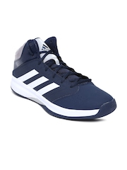 Adidas Men Navy Isolation 2 Basketball Shoes