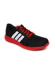 Adidas Men Black & Red Hellion M Running Shoes