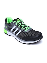 Adidas Men Black & Grey Nova Cushion Sports Shoes