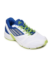 Adidas Men White & Blue Hachi Sports Shoes