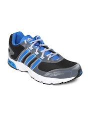 Adidas Men Black & Grey Neron Running Shoes