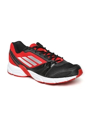 Adidas Men Black & Red Hachi M Running Shoes