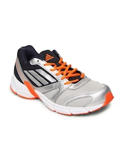 Adidas Men Silver Toned & Grey Hachi Sports Shoes