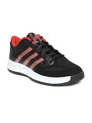 Adidas Men Black Hoop Fury Low Sports Shoes