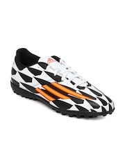 Adidas Men Black & White F5 TF Football Shoes