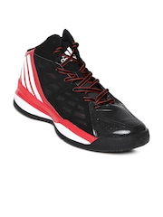 Adidas Men Black Own The Game Basketball Shoes