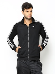 Adidas Men Black ESS 3S PES TTOP Training Jacket